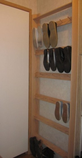Luxury Antique Shoes Rack Design Ideas To Try Right Now 26