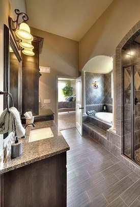 Perfect Master Bathroom Design Ideas For Small Spaces To Have 27