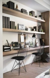 Popular Home Office Cabinet Design Ideas For Easy Organization Storage 11