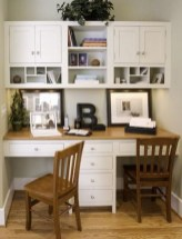 Popular Home Office Cabinet Design Ideas For Easy Organization Storage 14