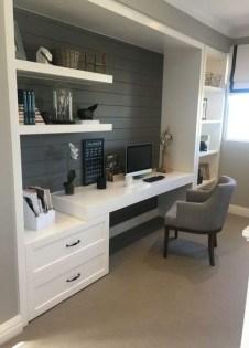 Popular Home Office Cabinet Design Ideas For Easy Organization Storage 19