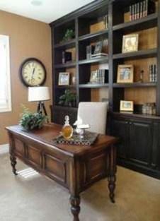 Popular Home Office Cabinet Design Ideas For Easy Organization Storage 29