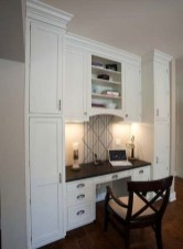 Popular Home Office Cabinet Design Ideas For Easy Organization Storage 30