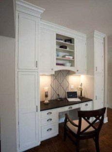 Popular Home Office Cabinet Design Ideas For Easy Organization Storage 30