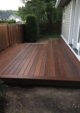 Superb Diy Wooden Deck Design Ideas For Your Home 33