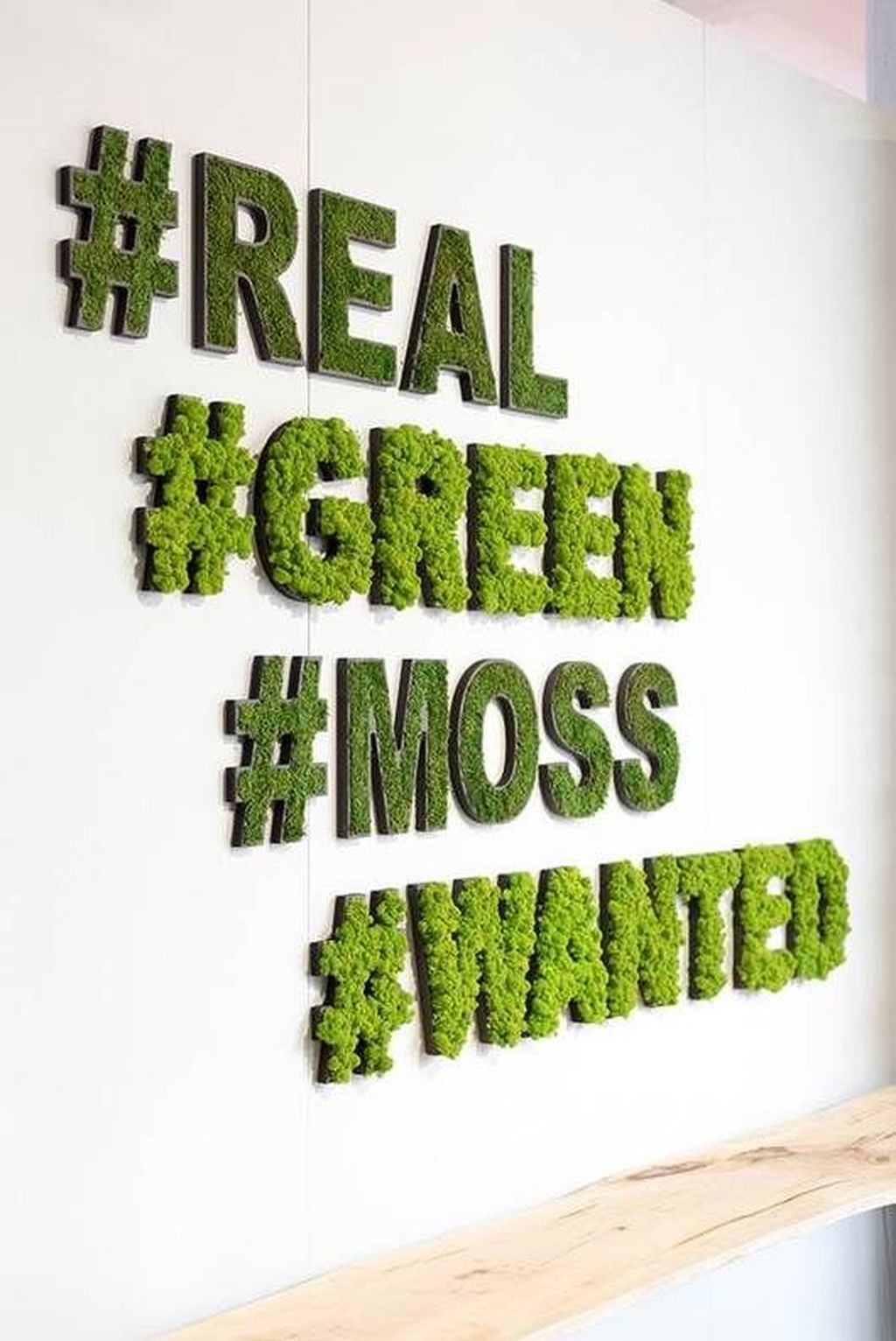 Delicate Natural Moss Wall Art Decorations Ideas To Try Right Now 19
