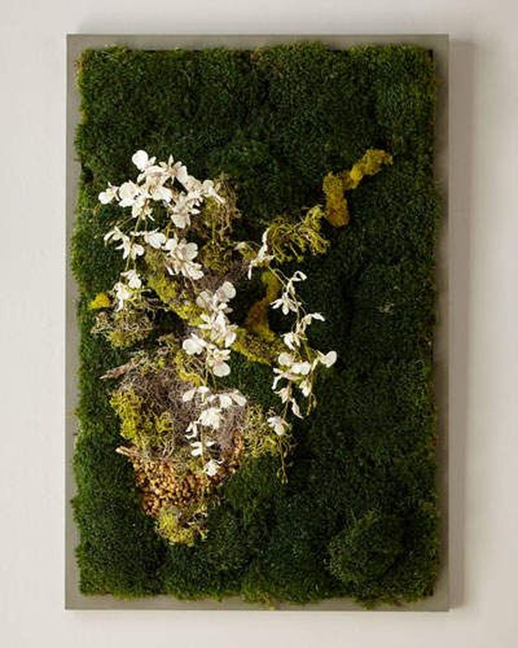 Delicate Natural Moss Wall Art Decorations Ideas To Try Right Now 33
