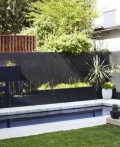 Elegant Black Swimming Pool Design Ideas That All Men Must Know 01