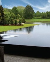 Elegant Black Swimming Pool Design Ideas That All Men Must Know 11