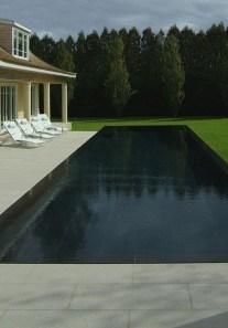 Elegant Black Swimming Pool Design Ideas That All Men Must Know 14