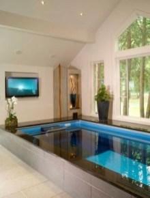 Elegant Black Swimming Pool Design Ideas That All Men Must Know 19