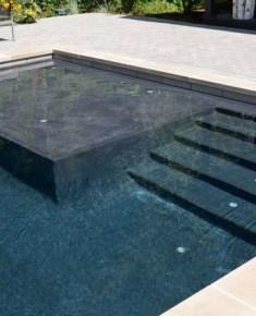 Elegant Black Swimming Pool Design Ideas That All Men Must Know 23