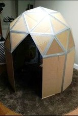 Enchanting Cardboard Playhouse Design Ideas For Kids That You Will Love It 15
