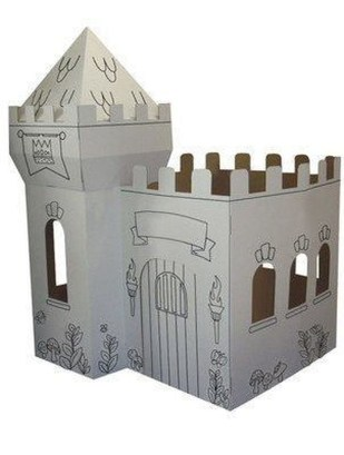 Enchanting Cardboard Playhouse Design Ideas For Kids That You Will Love It 18