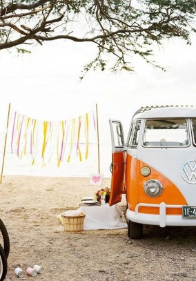 Gorgeous Wedding Theme Ideas With Vw Car Party To Have Right Now 06