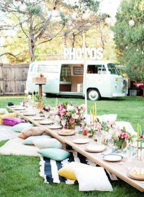Gorgeous Wedding Theme Ideas With Vw Car Party To Have Right Now 08