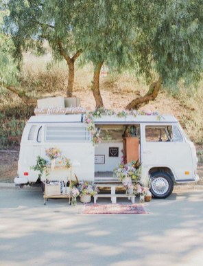 Gorgeous Wedding Theme Ideas With Vw Car Party To Have Right Now 18