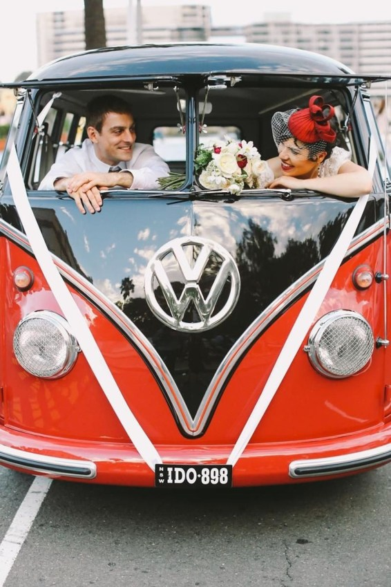 Gorgeous Wedding Theme Ideas With Vw Car Party To Have Right Now 33