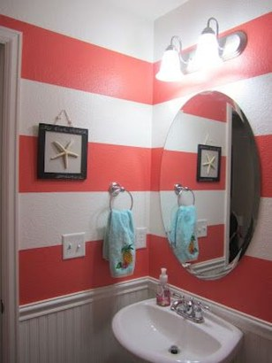 Inspiring Beach And Coral Themed Bathroom Design Ideas To Try Right Now 09