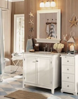 Inspiring Beach And Coral Themed Bathroom Design Ideas To Try Right Now 23