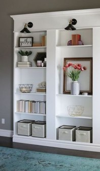 Latest Ikea Billy Bookcase Design Ideas For Limited Space That Will Amaze You 02