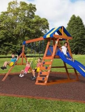Magnificient Transform Backyard Design Ideas Into Kids Playground 17