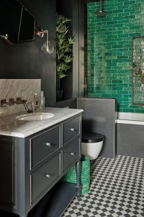 Modern Bathroom Design Ideas With Exposed Brick Tiles 01