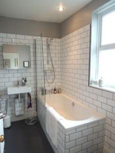 Modern Bathroom Design Ideas With Exposed Brick Tiles 10