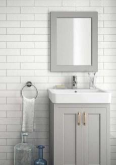 Modern Bathroom Design Ideas With Exposed Brick Tiles 21