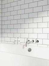 Modern Bathroom Design Ideas With Exposed Brick Tiles 28