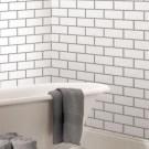 Modern Bathroom Design Ideas With Exposed Brick Tiles 35