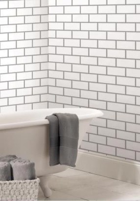 Modern Bathroom Design Ideas With Exposed Brick Tiles 35