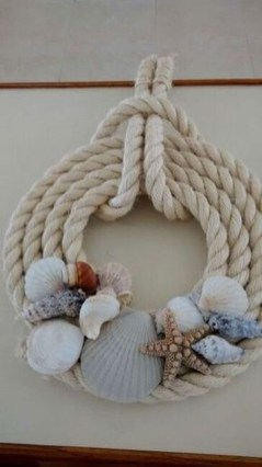 Newest Coastal Decorating Ideas With Rope Crafts To Try Right Now 16