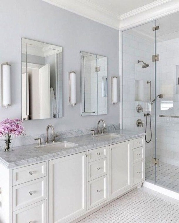 Perfect Master Bathroom Design Ideas For Small Spaces To Have 30