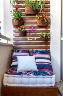 Relaxing Tiny Balcony Decor Ideas To Try This Month 02