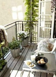 Relaxing Tiny Balcony Decor Ideas To Try This Month 03