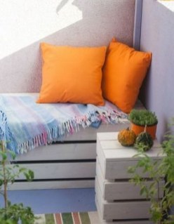 Relaxing Tiny Balcony Decor Ideas To Try This Month 04