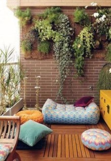 Relaxing Tiny Balcony Decor Ideas To Try This Month 18