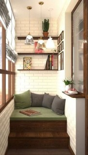 Relaxing Tiny Balcony Decor Ideas To Try This Month 20