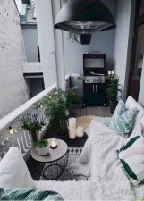 Relaxing Tiny Balcony Decor Ideas To Try This Month 21