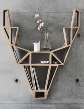 Splendid Deer Shelf Design Ideas With Minimalist Scandinavian Style To Try 01