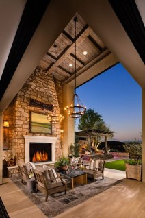 Unordinary Outdoor Living Room Design Ideas To Have Asap 04