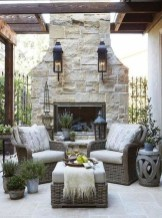 Unordinary Outdoor Living Room Design Ideas To Have Asap 16