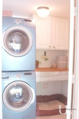 Unusual Laundry Arranging Design Ideas For Small Space To Try 14