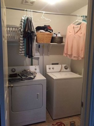 Unusual Laundry Arranging Design Ideas For Small Space To Try 17