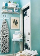 Unusual Laundry Arranging Design Ideas For Small Space To Try 23