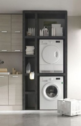 Unusual Laundry Arranging Design Ideas For Small Space To Try 26