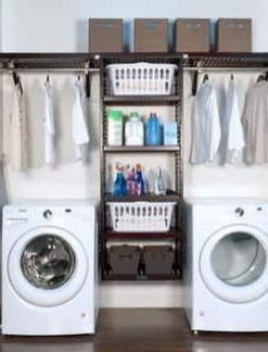 Unusual Laundry Arranging Design Ideas For Small Space To Try 30