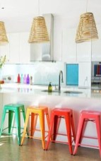 Adorable Rainbow Colorful Kitchens Design Ideas To Looks More Awesome 02