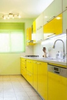 Adorable Rainbow Colorful Kitchens Design Ideas To Looks More Awesome 10
